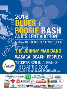 Blues + Boogie Bash 2018